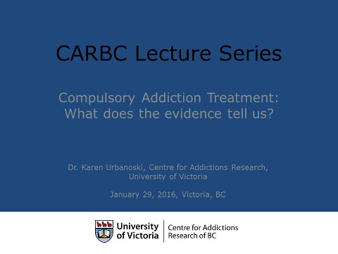 Compulsory Addiction Treatment: What does the evidence actually tell us?