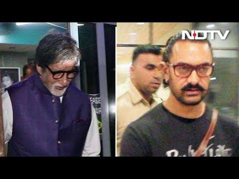 Celeb Spotting: Aamir Khan, Amitabh Bachchan & Others