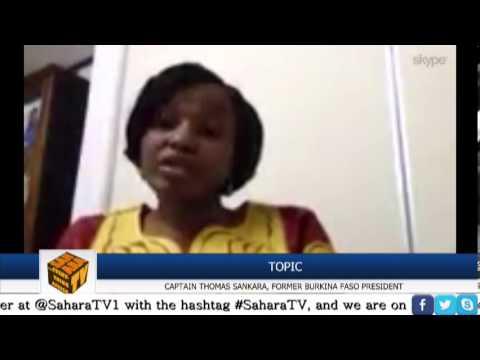 SaharaTV: Captain Thomas Sankara Tribute With Chika Ezeanya