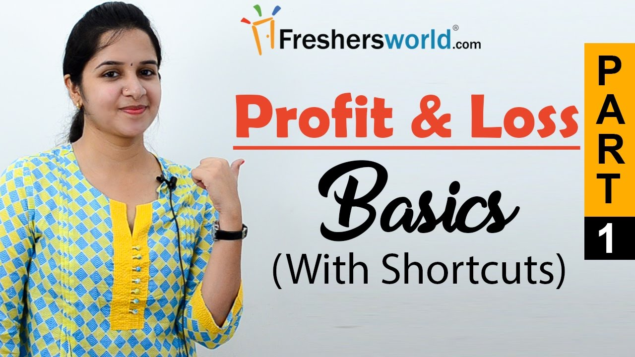 aptitude made easy profit loss basics and methods profit and
