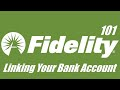 Linking your Bank to your Investment Account | Fidelity | Personal Finance, Investing