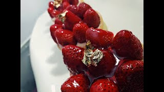 Tarte aux fraises Recette طريقة تحضيرفطيرة الفراولة 2019