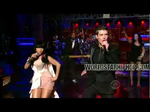 Nicki Minaj And Robin Thicke Shaking it For Daddy  Perfomac