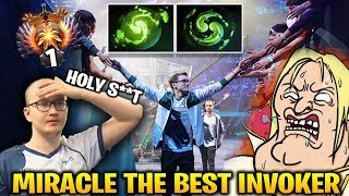 MIRACLE SHOW US HE IS THE BEST AT INVOKER vs MATUM TOP 1 EU