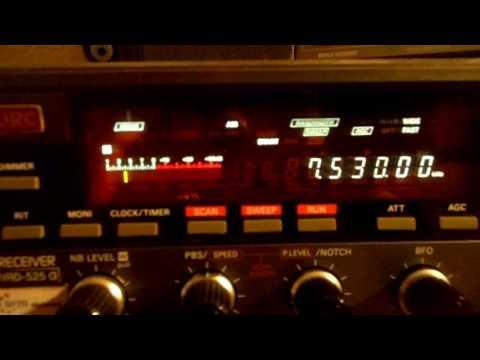Radio Latino 11 10 2016 7530 kcs 17 50 UTC