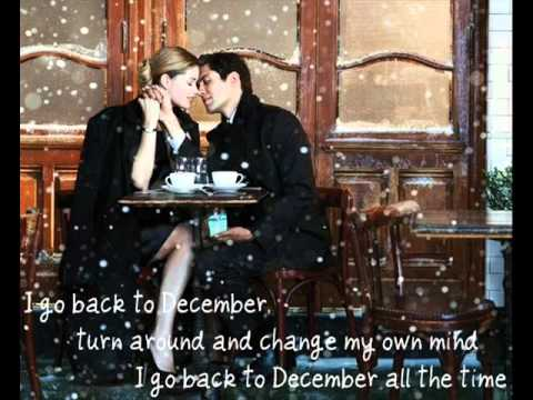 Back to December - Taylor Swift ( lyric )