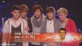 One Direction ~ X Factor Week 10 ~ Your Song (HD)