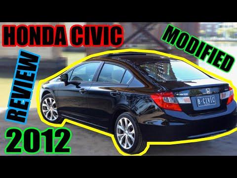 Honda Civic Modified 2012 Review | Cars Debate