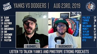 Yanks vs Dodgers | Aug 13 | Pre-Game Show