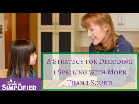 A Strategy for Decoding 1 Spelling with More Than 1 Sound