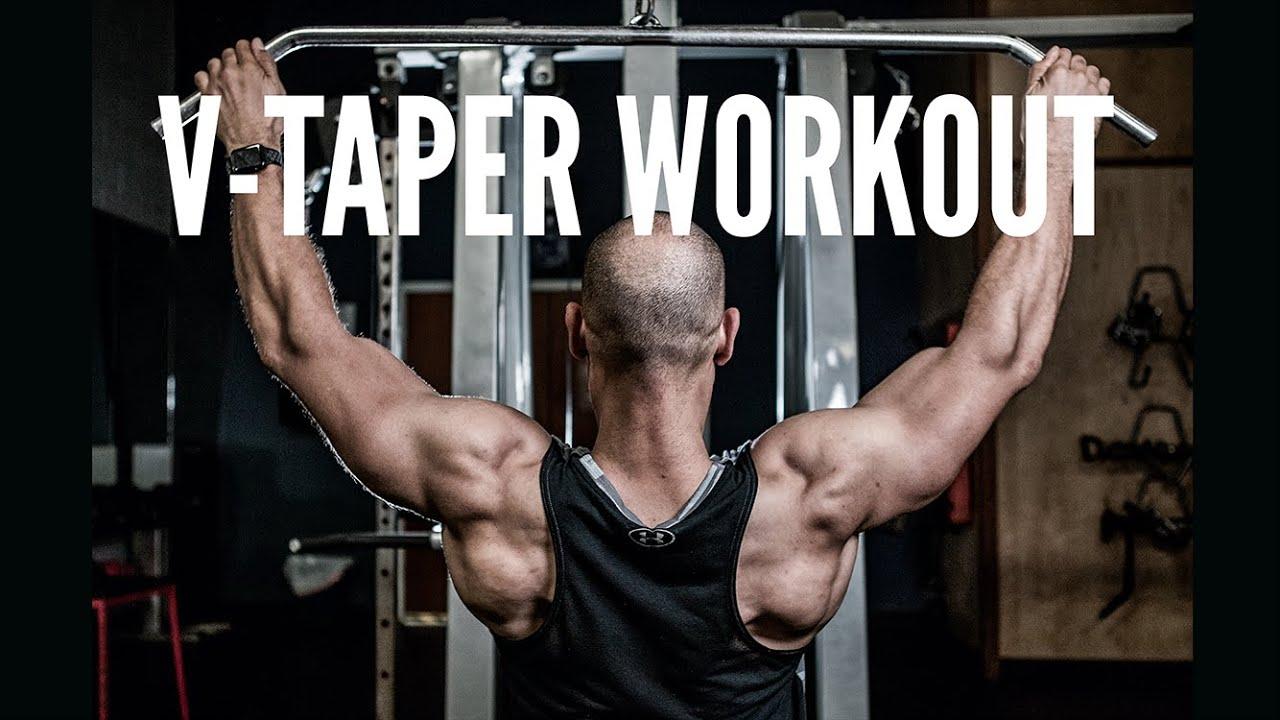 The Best V-Taper Workout   Back And Shoulders Full Workout ...