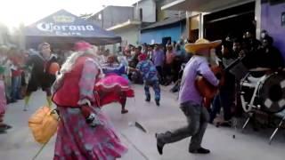 Danza de los viejos locos en quechultenango.
