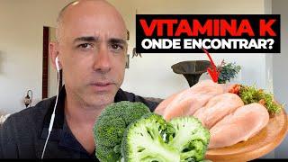 Vitamina K – Veja como ela pode ser Importante para sua Saúde