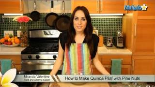 How To Make Quinoa Pilaf With Pine Nuts