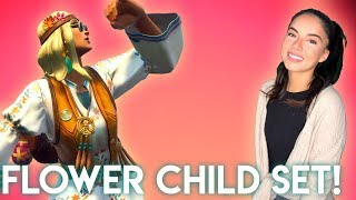*New Flower Power Set!* Fortnite Battle Royale Solo with Gala! // 745 Wins // PS4 Console 🗯️