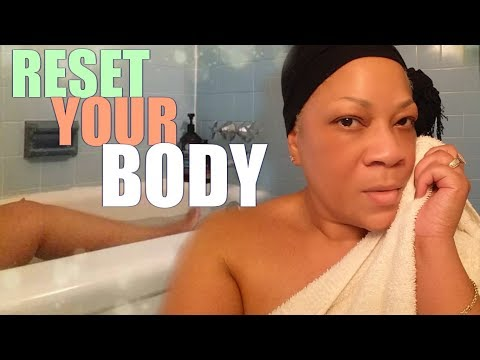 RESET YOUR BODY + DETOX BATH + HOW TO + Benefits Of Epsom Salt Baths: A Powerful Detoxifier