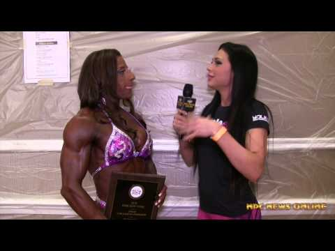 MICHELLE CUMMINGS 2015 IFBB New York Pro Womens Physique Champion