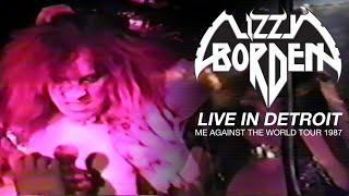 Lizzy Borden – Archives – Live in Detroit: Me Against the World Tour 1987