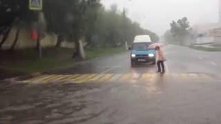потоп на котляковской, Москва. 15.08