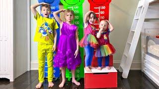 Five Kids Opposites Song Nursery Rhymes & Kids Songs