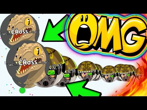 IMPOSSIBLE AGAR.IO SAME SIZE POPSPLIT !!! ULTIMATE AGARIO WINS COMPILATION!