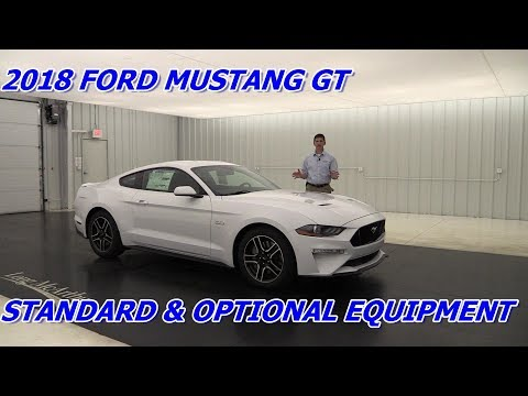 FORD MUSTANG GT & GT PREMIUM: STANDARD & OPTIONAL EQUIPMENT