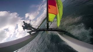 Hobie 16 Catamaran Sailing British Virgin Islands HD