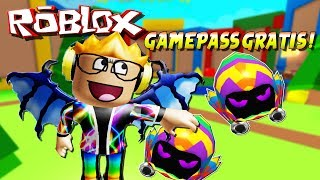 TOYS, Legendary AND FREE GAMEPASS ! 🌟 BUBBLE Gum SIMULATOR (Roblox)