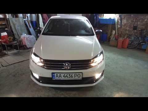 Ставим LED на Volkswagen Polo 2017, ошибок нет