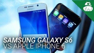 samsung galaxy s6 vs apple iphone 6 quick look