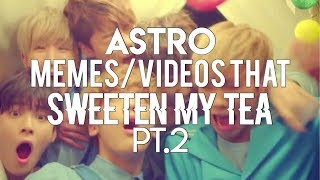 Cover images astro memes/videos that sweeten my tea pt.2