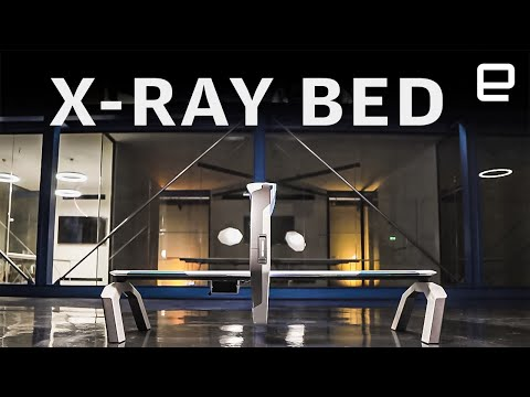 This X-ray machine looks like it's straight out of Star Trek