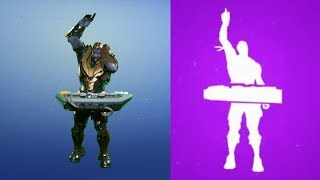 Thanos is At It Again - [October 2018] Thanos performs emotes from Fortnite