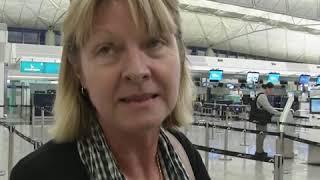 香港机场星期二恢复运作