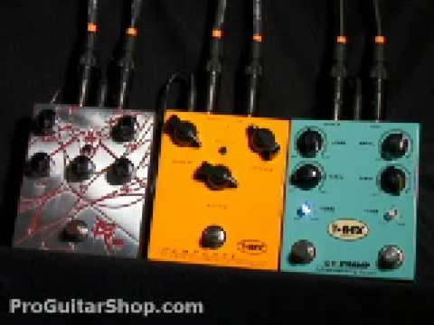 T-Rex Bloody Mary, Mudhoney, Dr. Swamp Distortion pedals