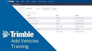 Wie Beurteilung Fahrzeuge und Geräte - | Online-Training | Trimble Software Ag