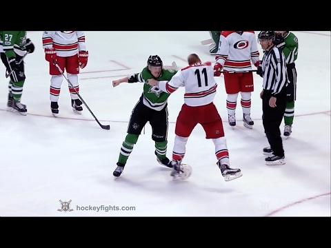 Jordan Staal vs Jamie Oleksiak Feb 11, 2017