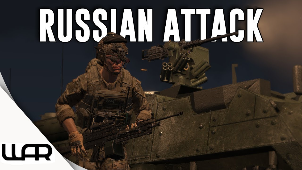 Arma 3 Milsim (2019) - Will We Hold Against the Russian Attack? - 2/75th  Army Rangers - Ep 1