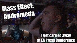 Mass Effect: Andromeda - I lose my mind at EA 2015 E3 Press Conference (1080p) HD!