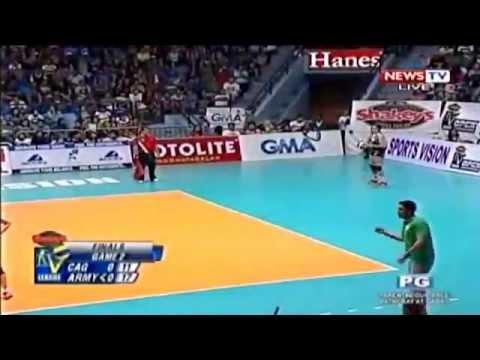 Philippine Army  vs Cagayan Valley  -November 9,2014 [ Set 1 ] Finals Game 2