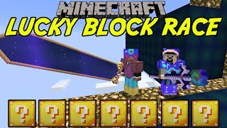 FÅR STÖRSTA SVÄRDET | LUCKY BLOCK RACE | Minecraft Mini-Game med Softis