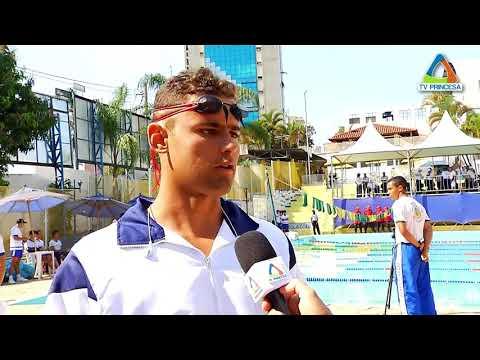 (JC 19/09/17) Varginha sedia disputa de natação em jogos das forças armadas