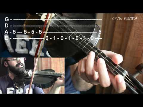 How to play Despacito on Violin   Urdu   Hindi   Easy Music Tutorials