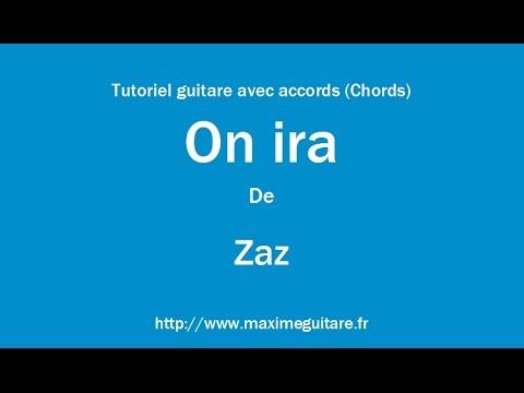 On ira (Zaz) - Tutoriel guitare avec accords (Chords)