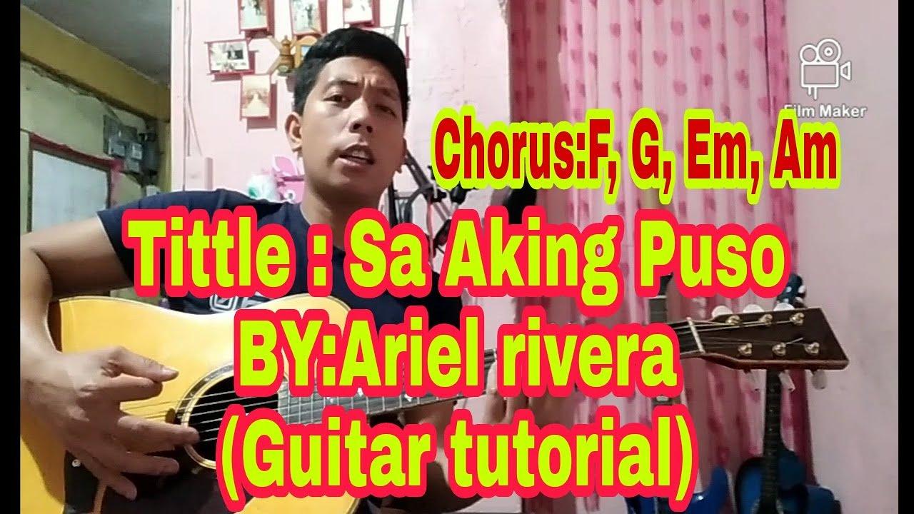 Sa Aking puso (Guitar tutorial strumming for beginners) Capo 4rt fret