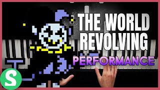 """THE WORLD REVOLVING"" from Deltarune | Piano Cover"