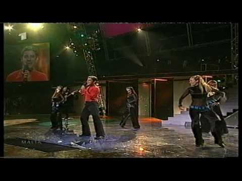 Eurovision 2001 21 Malta *Fabrizio Faniello* *Another Summer Night* 16:9 HQ