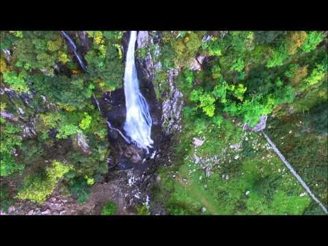 Aber Falls, Abergwyngregyn,  North Wales.