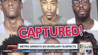 Vegas police arrest serial burglars targeting Chinatown tourists