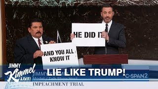 Jimmy Kimmel Cuts Through Impeachment Nonsense